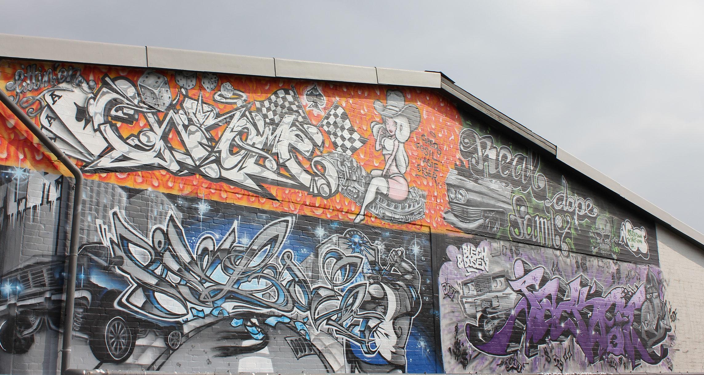 blech & dosen Event Graffiti