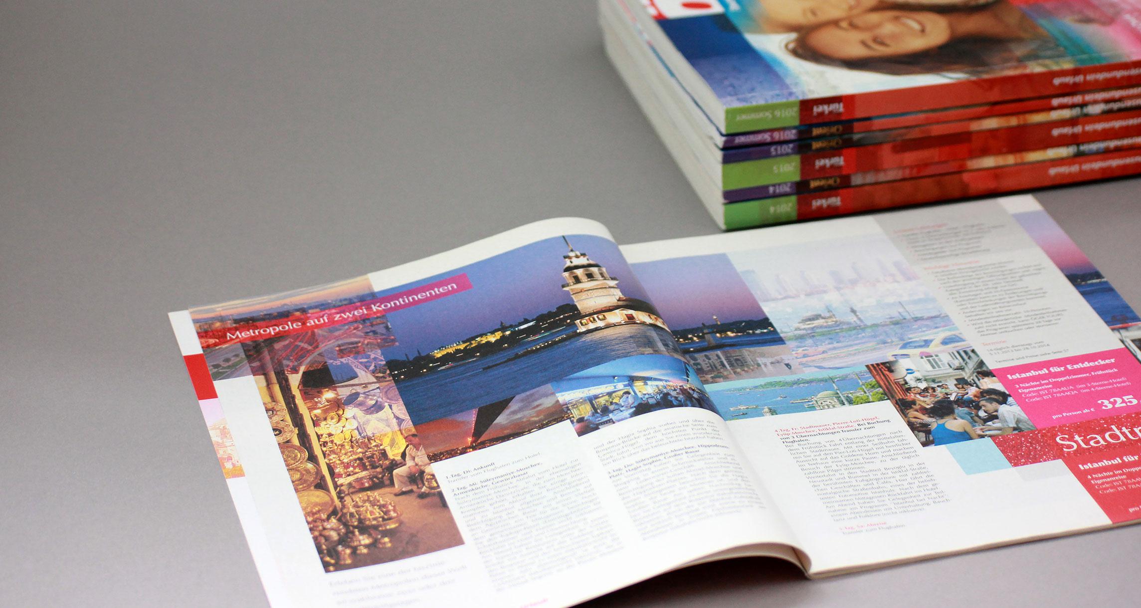 Cube Design Print Katalog Inhalt