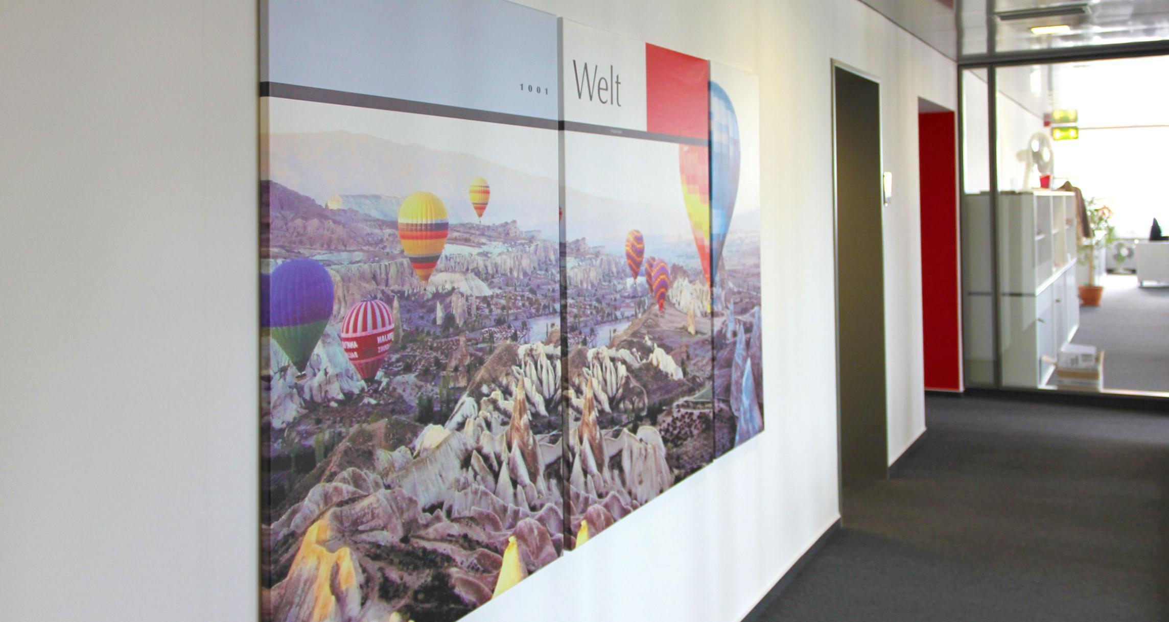 Interieur Design - Bilder auf Leinwand